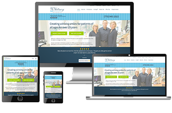 responsive dental websites