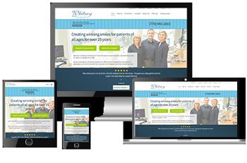 responsive dental websites